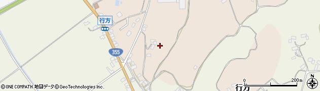 茨城県行方市行方周辺の地図
