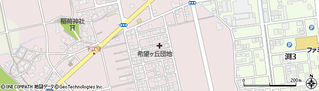 福井県福井市下江守町周辺の地図