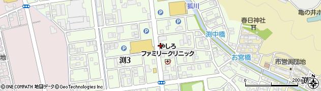 福井県福井市渕周辺の地図