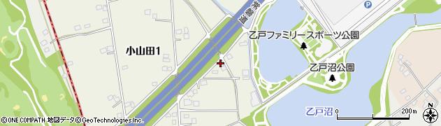 カーランドアライ周辺の地図