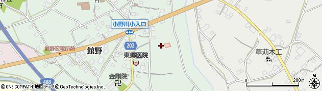 茨城県つくば市館野周辺の地図