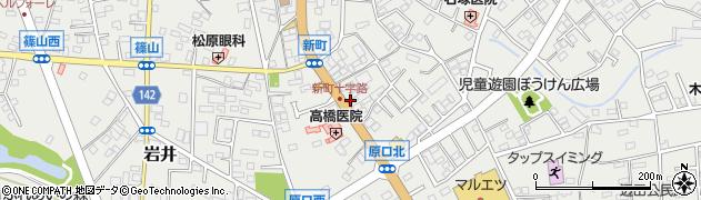 倉持書写教室周辺の地図