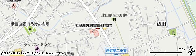 マスダ調剤薬局岩井店周辺の地図