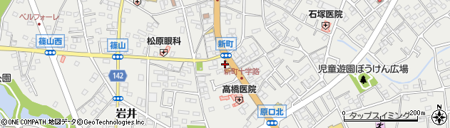 荒木製茶工場周辺の地図