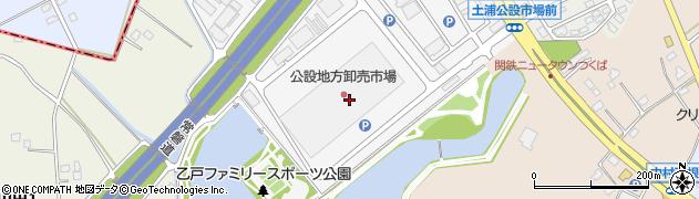 株式会社鶴田商店 公設市場店周辺の地図