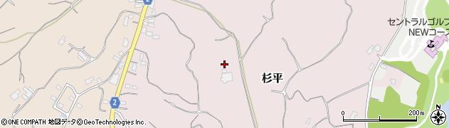 茨城県行方市杉平周辺の地図