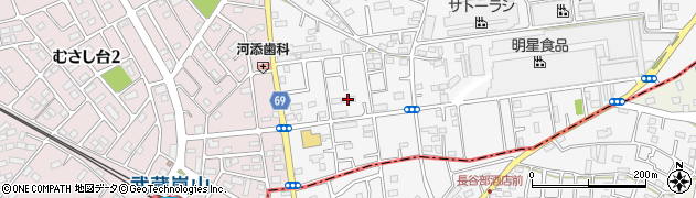 埼玉県比企郡嵐山町川島周辺の地図