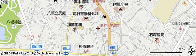 岩井こども劇場周辺の地図
