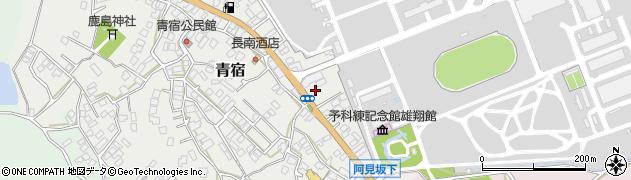 江戸崎屋京染周辺の地図