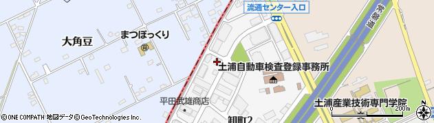 株式会社シモダ 筑波営業所周辺の地図