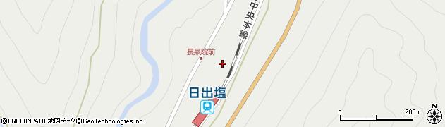 長泉院周辺の地図