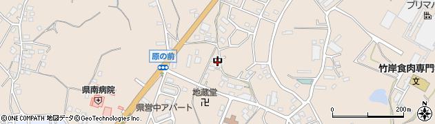 茨城県土浦市中周辺の地図