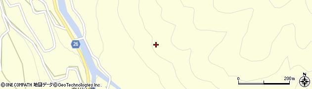 長野県松本市奈川(寄合渡)周辺の地図