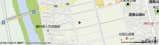 福井県福井市久喜津町周辺の地図