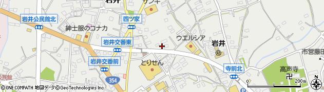 有限会社岩井木工所周辺の地図