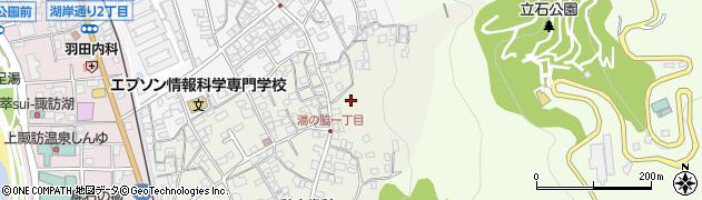 白山舎周辺の地図