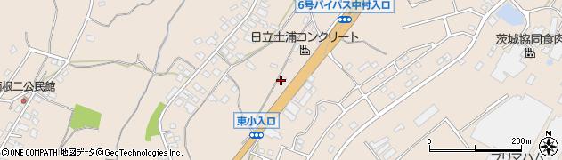 株式会社丸株 土浦南給油所周辺の地図