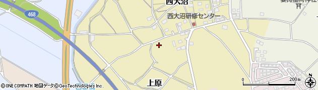 茨城県つくば市西大沼周辺の地図