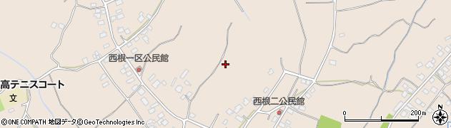 茨城県土浦市中村西根周辺の地図