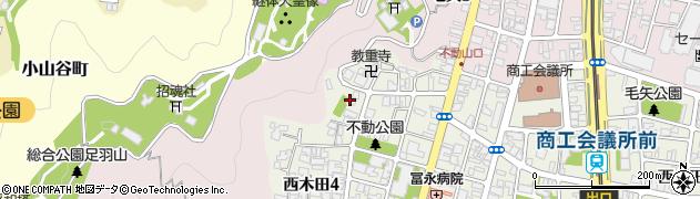 泰清院周辺の地図