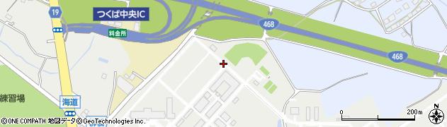 茨城県つくば市大わし周辺の地図