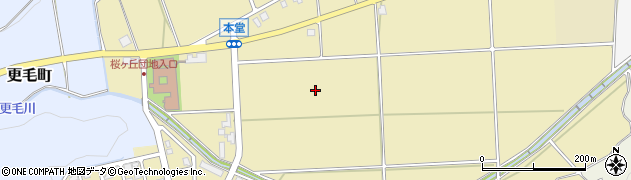 福井県福井市本堂町周辺の地図