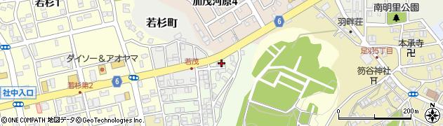 福井県福井市加茂河原町周辺の地図