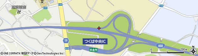 茨城県つくば市新井周辺の地図