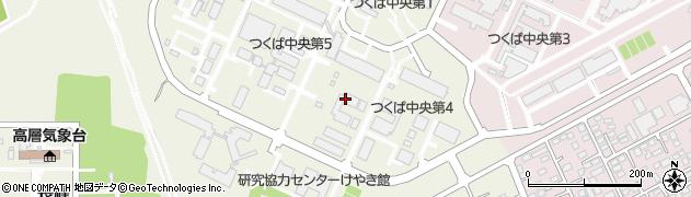 茨城県つくば市東周辺の地図