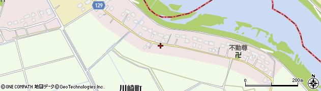 茨城県常総市川崎町乙周辺の地図