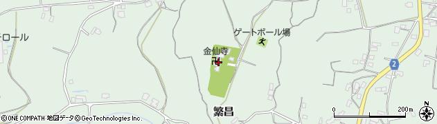 金仙寺周辺の地図