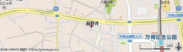 茨城県つくば市香取台周辺の地図