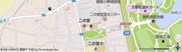 つくば市立 二の宮児童館周辺の地図