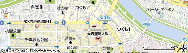 徳行寺周辺の地図