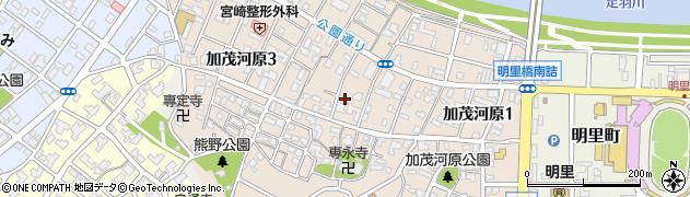 福井県福井市加茂河原周辺の地図