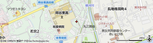 長野県岡谷市南宮周辺の地図