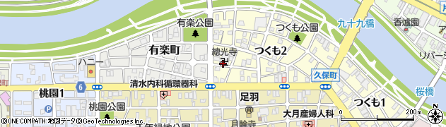 総光寺周辺の地図