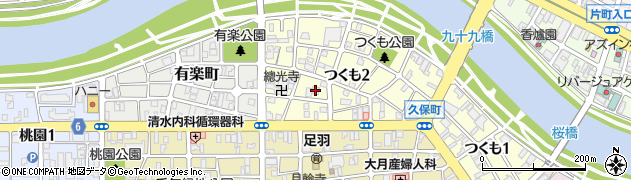 本経寺周辺の地図