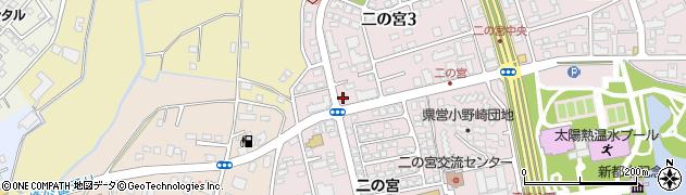 蒲原燃料住宅設備株式会社 筑波学園営業所周辺の地図