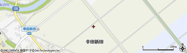 茨城県坂東市幸田新田周辺の地図