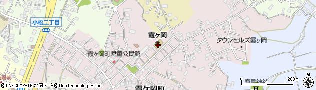 茨城県土浦市霞ケ岡町周辺の地図