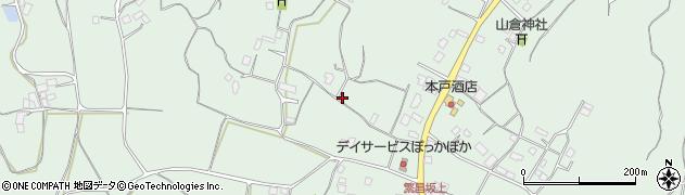 茨城県行方市繁昌周辺の地図