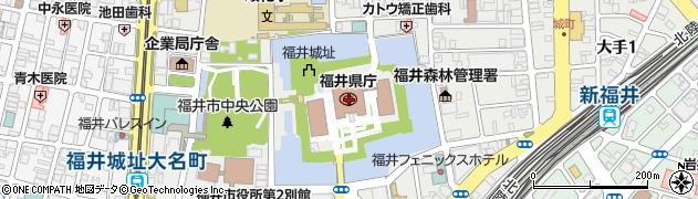 福井県周辺の地図