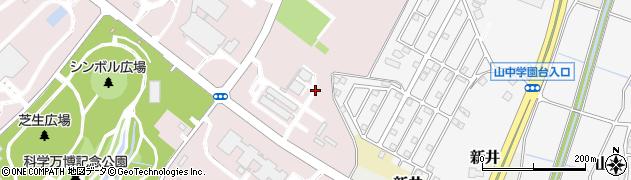 茨城県つくば市御幸が丘周辺の地図