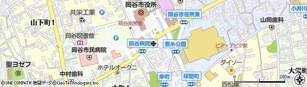長野県岡谷市幸町周辺の地図