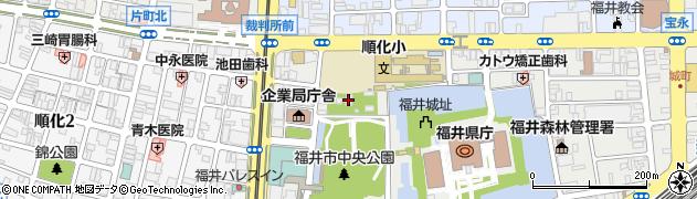 福井神社周辺の地図
