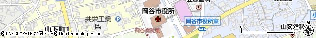 長野県岡谷市周辺の地図