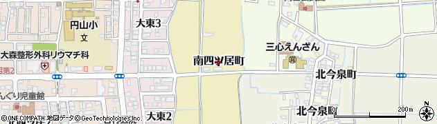 福井県福井市南四ツ居町周辺の地図