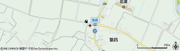 額賀宏商店周辺の地図