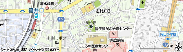 長松寺周辺の地図